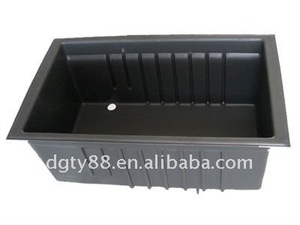 high quality vacuum forming blister hard ABS square plastic water tank