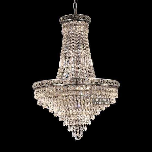chandeliers and pendants hanging chrome crystal chandelier
