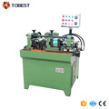Two axis hydraulic thread rolling machine for making screws and bolts