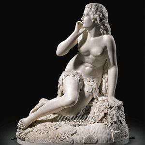 Beautiful Female Nude Marble Sculpture For Sale