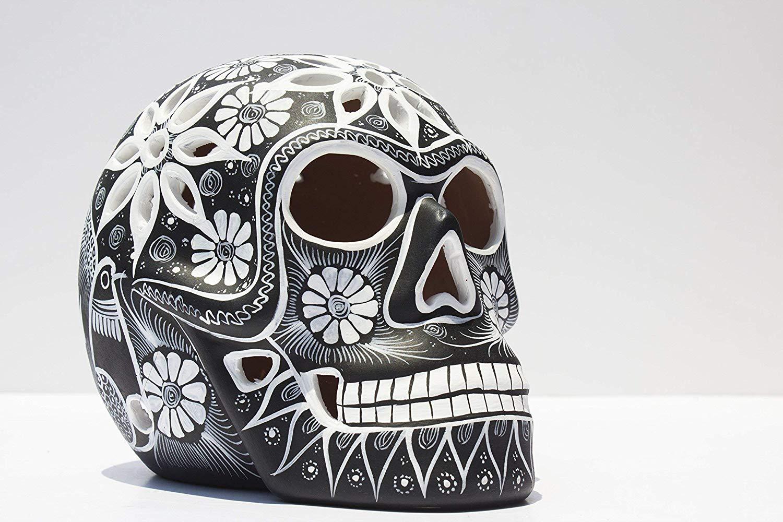 Banned Inferno Mexican Sugar Skull Cardigan