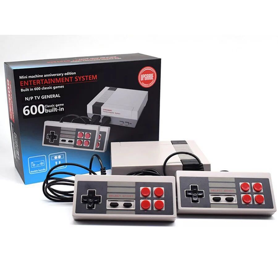 New Mini Retro Family console TV Handheld 8 Bit Game n1s620 Console Player with 620 Built-in Classic Games