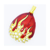 Fire style Jewelry USB flash drive with necklace 2G 4G 8G 16G 32G 64G