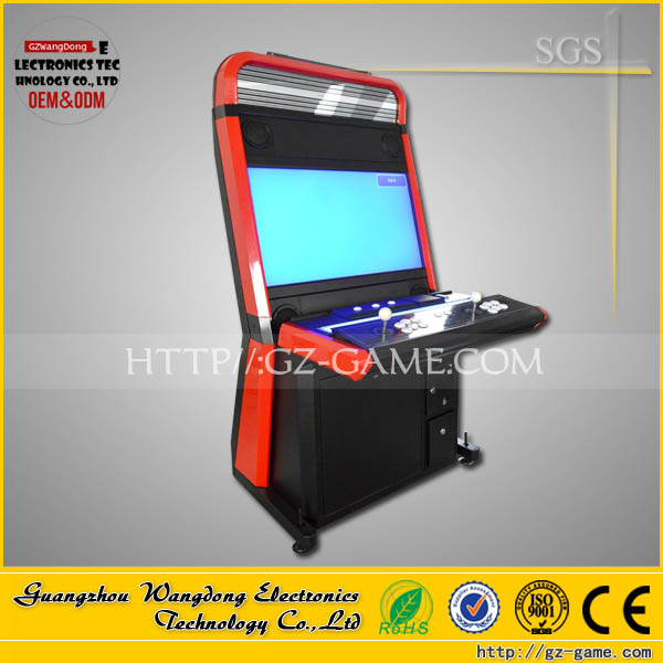 empty arcade cabinet with 32 inch touch screen /taito vewlix cabinet