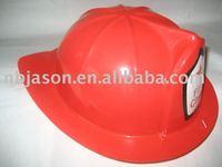 Party plastic toy fireman hat / plastic fireman helmet hat /fireman sam toys
