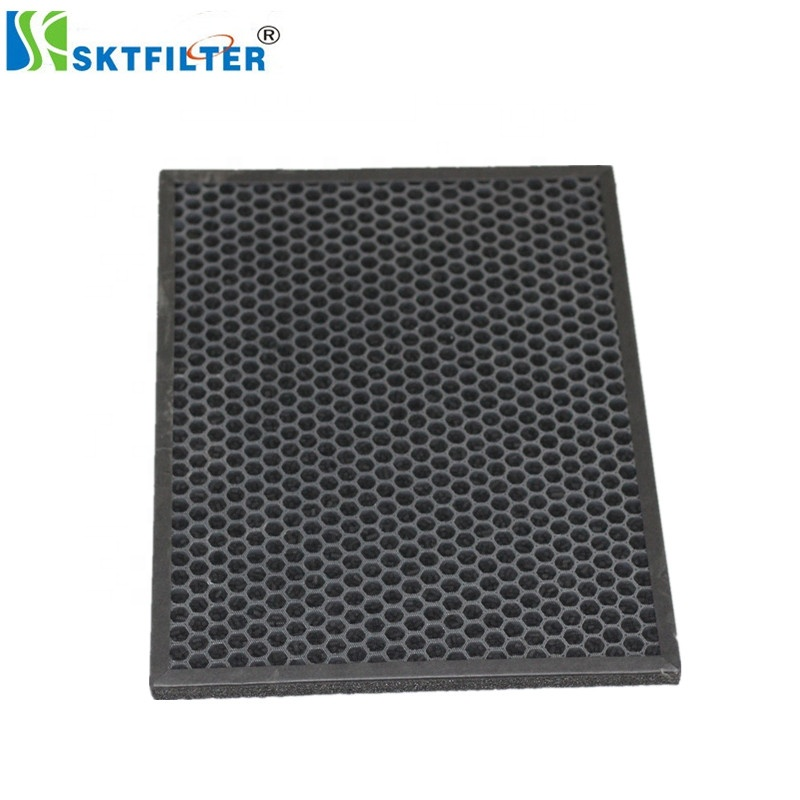 4 St/ücke Carbon Schwamm Filterschaum Blatt Luftreiniger Ersatz Aktiviert Pad Universal Aktivkohle Schwamm Filter