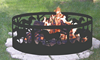 Stainless steel china wholesale custom fire ring pit for sale