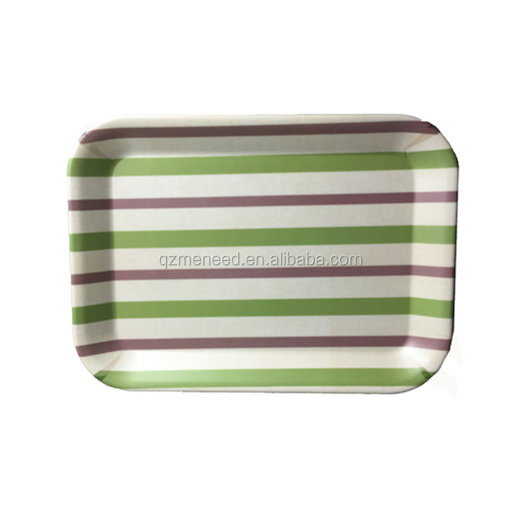 Various design personalized wholesale fast food tray/ school food serving tray