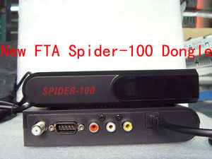 HOT!!! 2013 FTA Spider-100 satellite receiver Dongle for West Africa