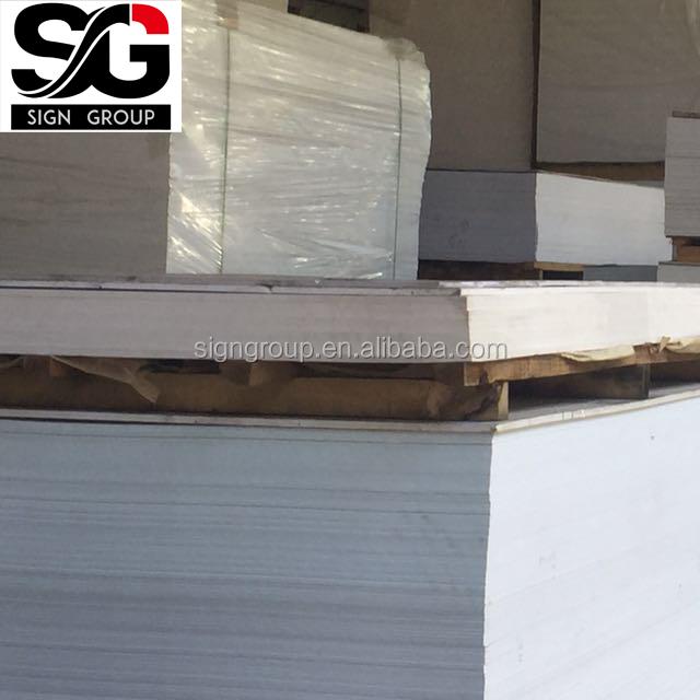 Great Best Sale Rigid Surface Fireproof Kitchen Cabinets Pvc Foam Board PVC  Material Sheet