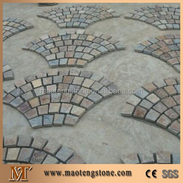 Xingzi Black Slate Flagstone Patio Flooring Pavers,Dark Grey Slate Flagstone  Wall Cladding For Walkway