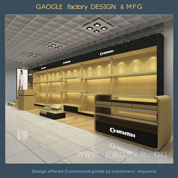 High Class Cloth Shop Counter Table Design Clothing Shop