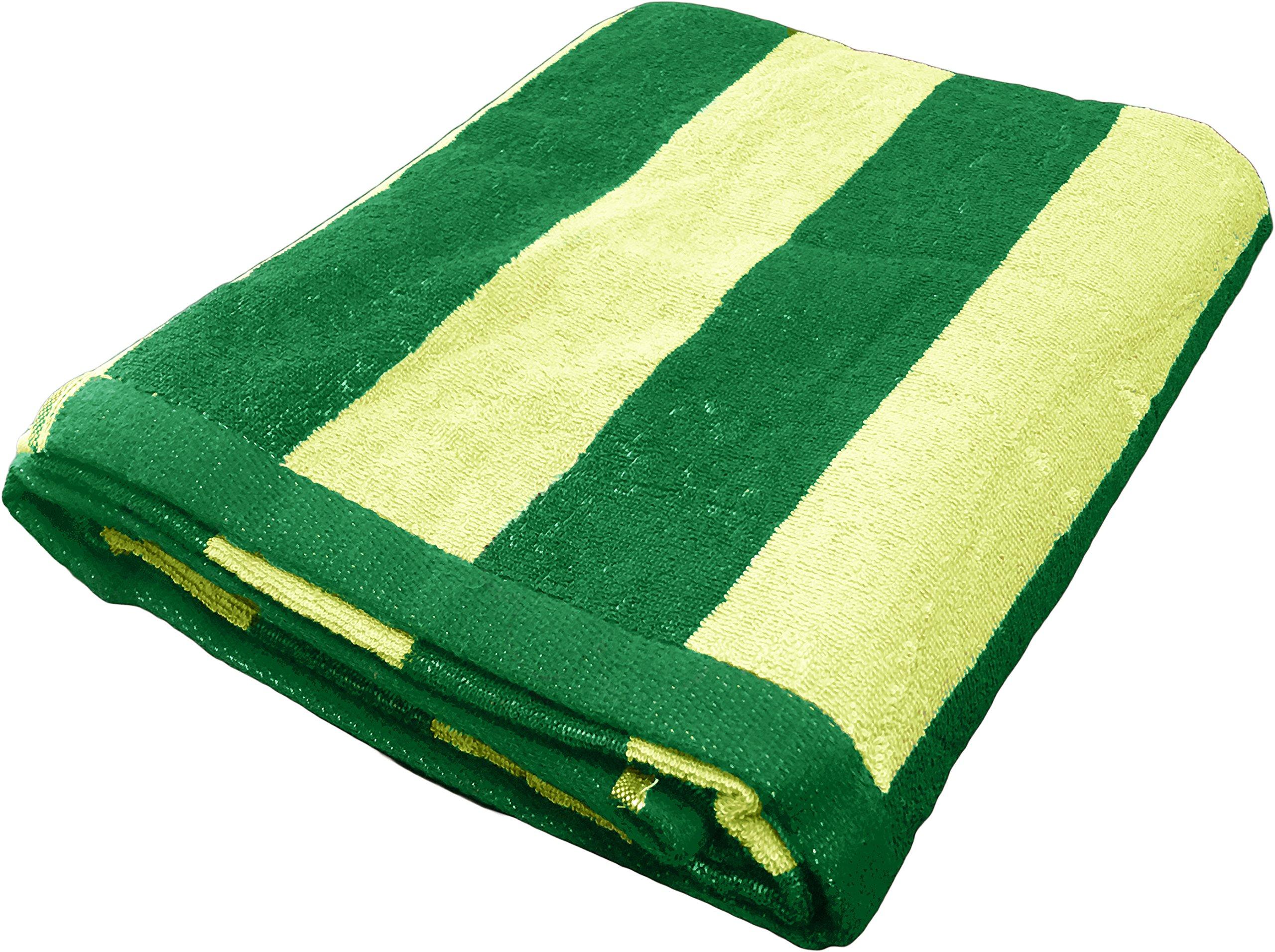 1 jumbo white blue stripe hotel cabana beach towels pool towel 30x60 ga towels