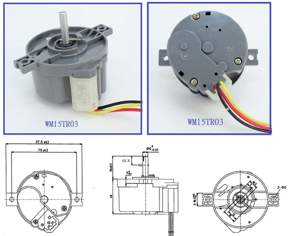 220v 3a 3 wires washing machine spare parts for daewoo washing machine spin  timer