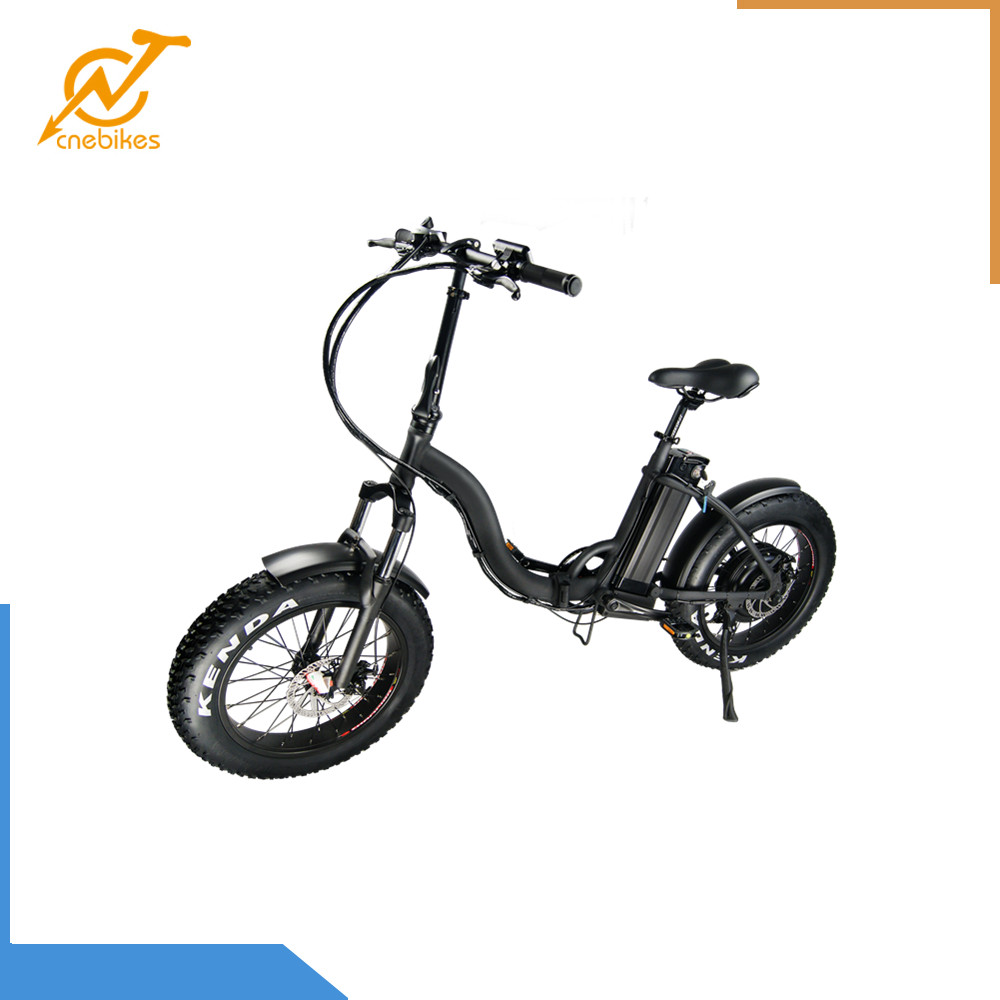 CNEBIKES fat tire eBike 48V 10.5Ah Folding Fat Tire Electric Bike with two colors