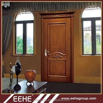 Classic Wooden Door Single Main Entrance Wooden Door Design - Buy ...