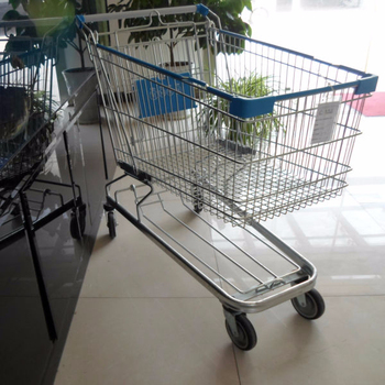 125L European Grocery Shopping Trolley with grace chassis