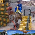 My-dino amusement simulation dinosaur rides for kiddie