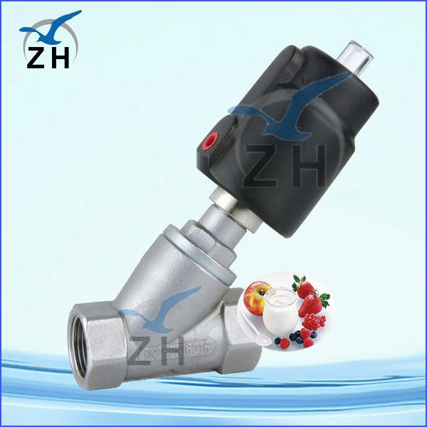 food grade angle valve quick connector