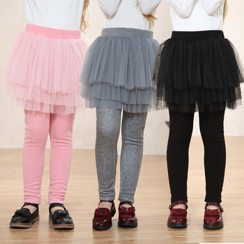 2081cdf5c High Quality Cotton Children Legging with Skirt Kids Girls Leggings ...
