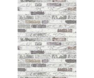 slate grey washable vinyl brick
