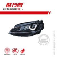 Best quality Head Lamp replacement for Golf 7 R Series