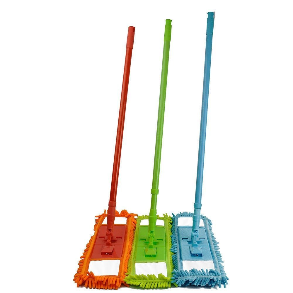 Buy Microfiber Noodle Mop Dust Mop W Handle Telescoping