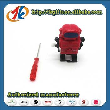 China Manufacturer Plastic DTY Robot Toy For Kids