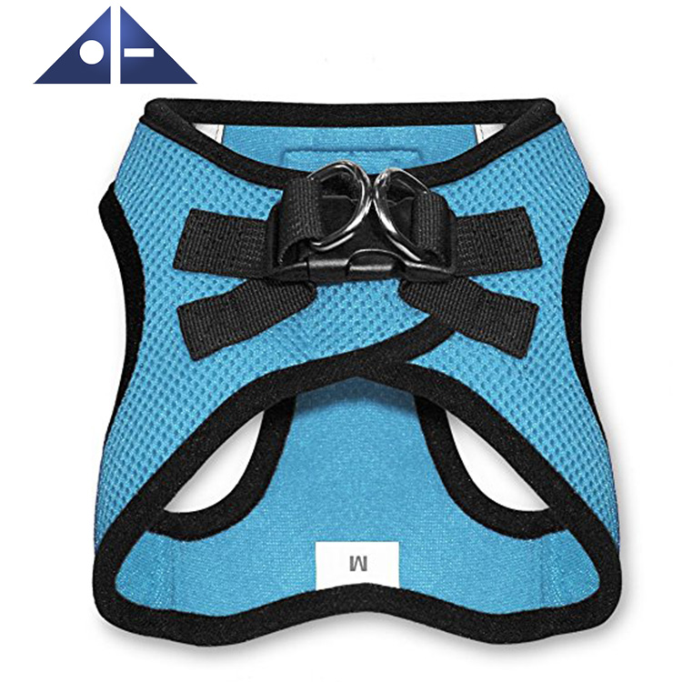 All Weather No Pull Step In Soft Mesh Dog Harness With Padded Vest For Puppy And Cats