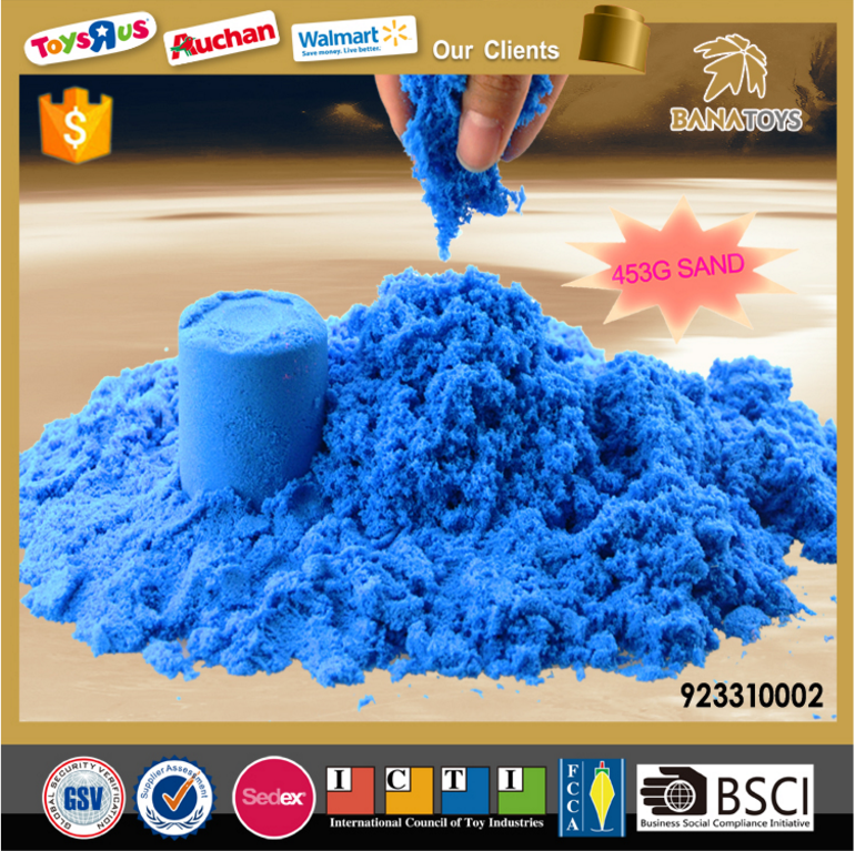 DIY Magic Toy Color Sand for Children