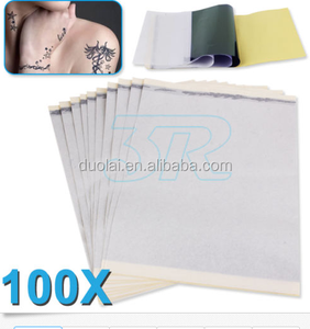 100pcs tattoo transfer paper for thermal copier tattoo stencil paper