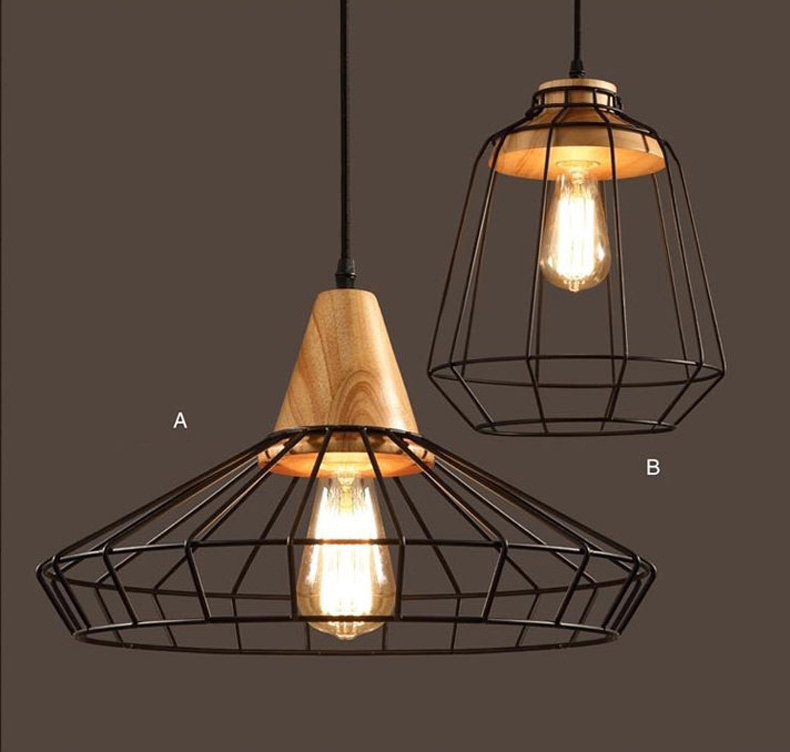Lighting Fixtures For Home: Loft Industrial Vintage Pendant Lights Bar Kitchen Home