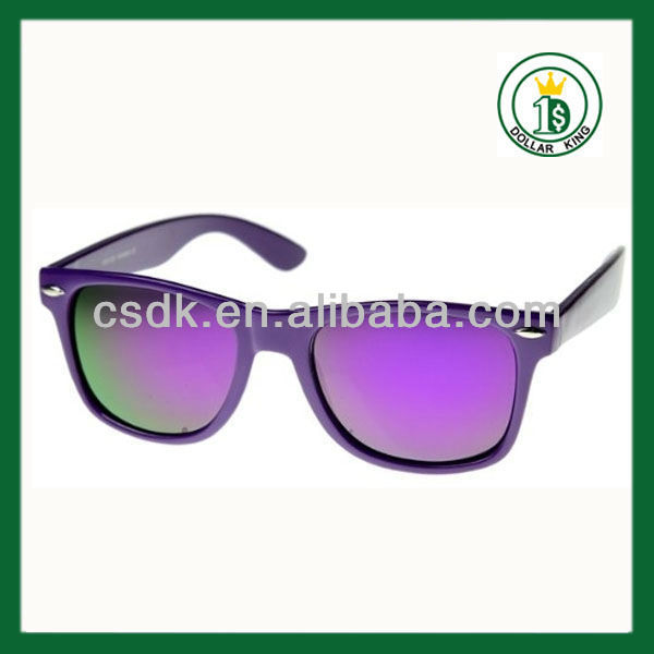 2015 fashion wholesale eyewear custom Party Toy Beauty Flashing Plastic Kids Sunglasses