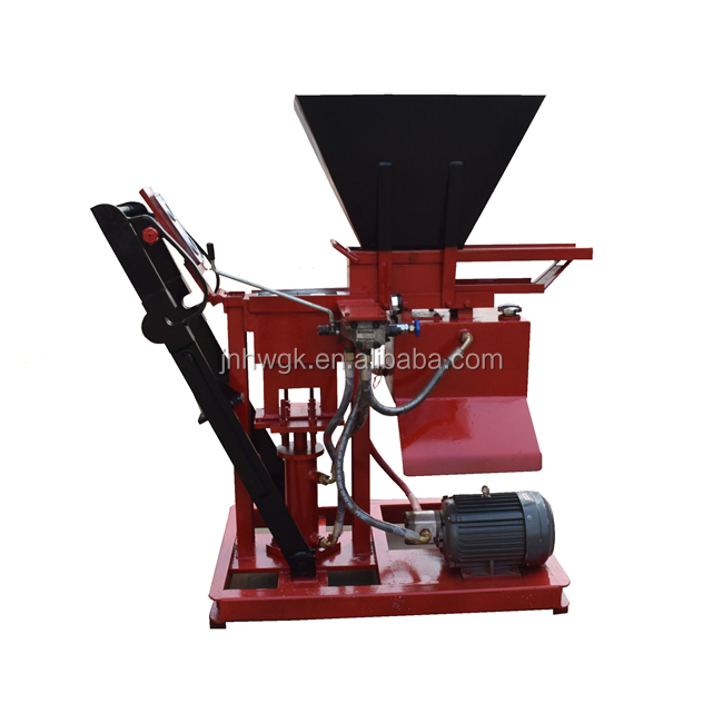 New Design Building Construction Equipment Easy Operate Clay Brick Making Machine