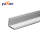 YuRun T5 Solar Aluminum Extrusion PV Panel Frame Price With Good Quality
