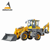 3ton High Quality big brand Backhoe Wheel Loaders for sale with 600mm digging bucket