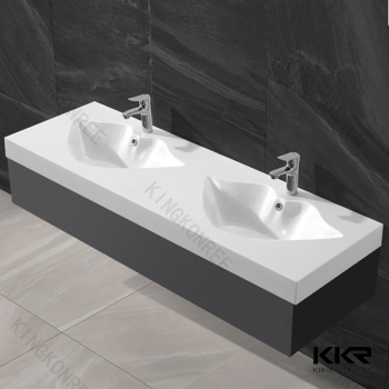 Bathroom Sinks Double Basin long commercial bathroom double bowl bathroom sink - buy double