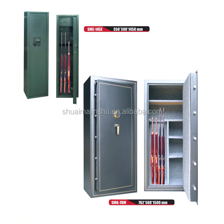 Hot-rolling sheet professional mechanical lock military security mini gun safe box price