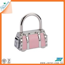 Travel Code Combination Padlock ; Bag Charm Accessory
