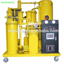 High Grade Dewatering Vegetable Oil Processing Filtration Plant, Waste Engine Oil Purifier