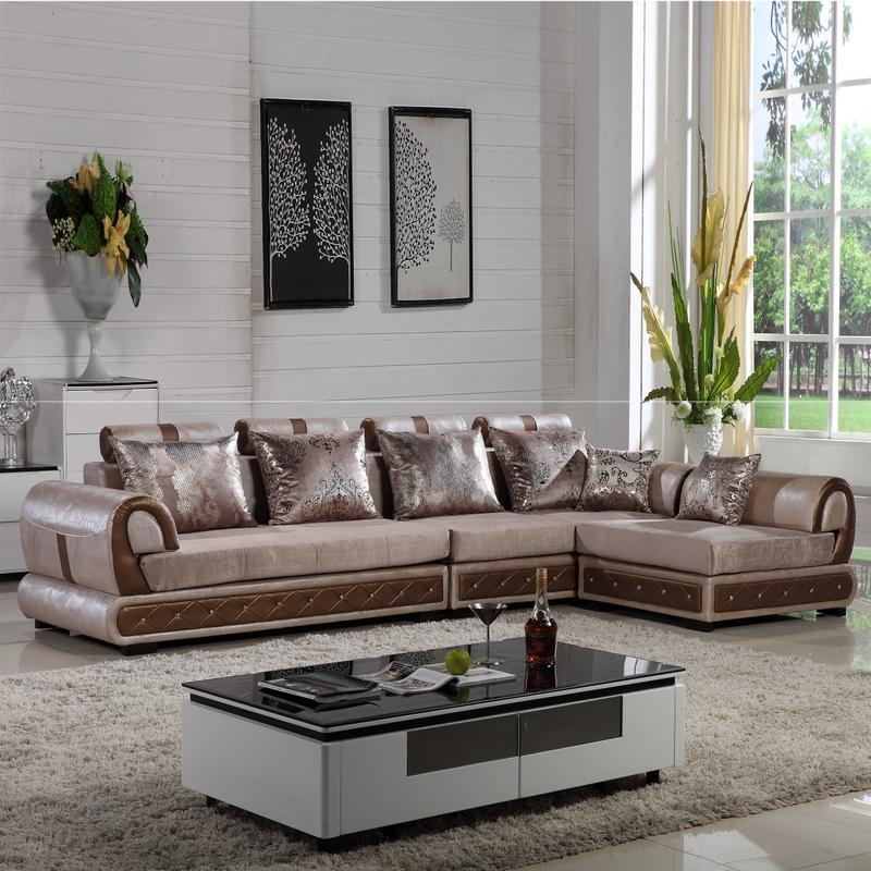 High End Leather Sofa: Aisenbaopi-Busha-publish-with-leather-sofas-living-room