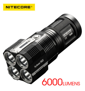 NITECORE TM28 6000 Lumens 18650 IPX8 Strong Searching LED Flashlight