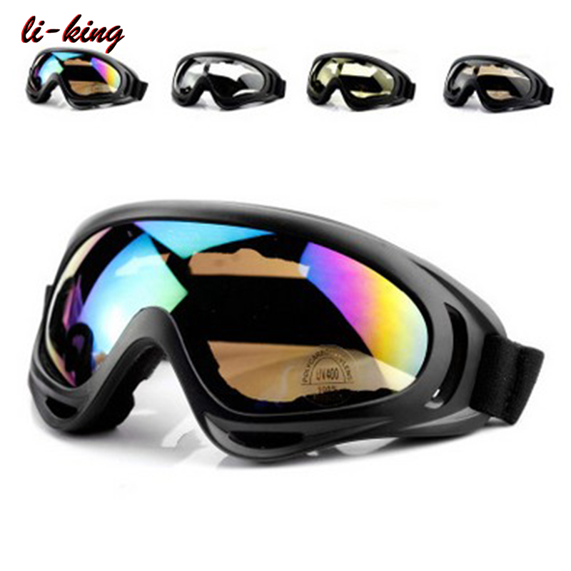 Outdoor Windproof Glasses custom motocross motorcycle tactical Sports goggles