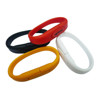 Hot Selling memory stick Bulk Buy Cheap PVC Usb Bracelet Wristband USB Flash Drives