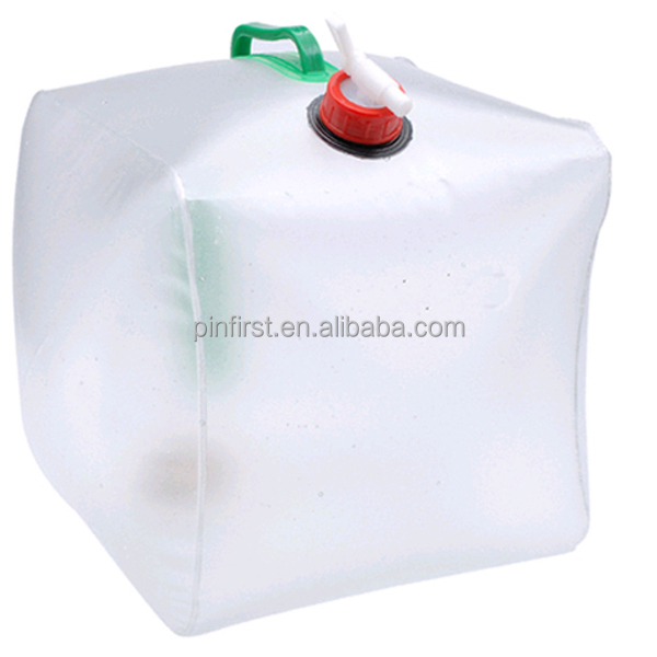 20L Wholesale Folding Adventure Camping Water Liquid Container