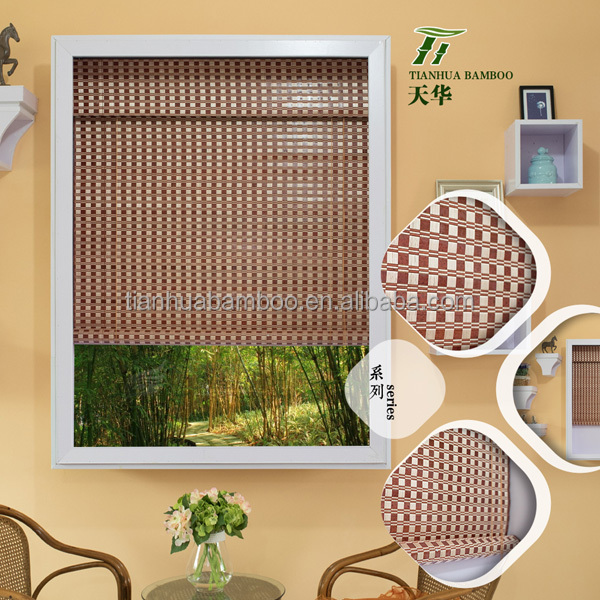Manual Interior Horizontal Window Bamboo Venetian Blinds