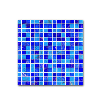 Australia Gaya Laut Biru Tua Warna Campuran Mosaik Dekorasi Wallpaper Ubin Buy Mosaik Wallpaper Ubin20x20 Biru Tua Warna Campuran Mosaik Kaca