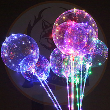 Bobo Ball LED Ballon Light 18 Inch LED String Light BoBo Helium Balloons Wedding Birthday Party LED Light Decor Manufacturer