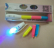 Promotional Gift permanent invisible ink pen uv marker pen with uv light set CH-6019