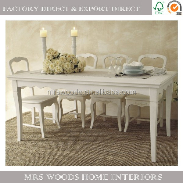 estilo provincial francs shabby chic muebles mesa comedor rstico de madera maciza conjunto buy product on alibabacom